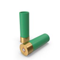 Shotgun Cartridges Green PNG & PSD Images