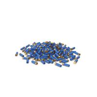 Pile Of Shotgun Cartridge Blue PNG & PSD Images