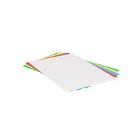 Colored Papers PNG & PSD Images
