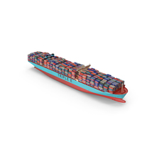 Triple E Class Container Ship PNG & PSD Images