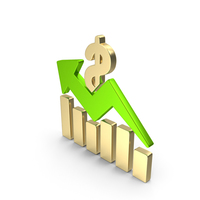 Stock Graph Color Green PNG & PSD Images