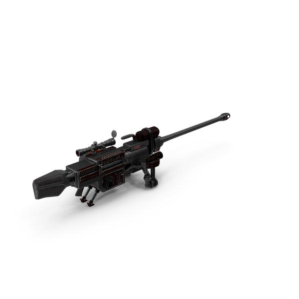 Heavy Sniper Rifle PNG & PSD Images