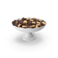 Chocolate Candy in Vase PNG & PSD Images