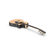 Classic Acoustic Guitar PNG & PSD Images