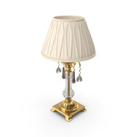 Baroque Glass Table Lamp PNG & PSD Images