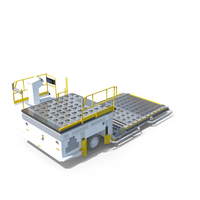 Airport Cargo Loader PNG & PSD Images