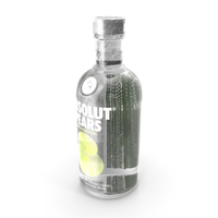 Absolut Pears Vodka Bottle PNG & PSD Images