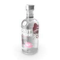 Absolut Raspberri Vodka Bottle PNG & PSD Images
