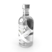 Absolut Vanilia Vodka Bottle PNG & PSD Images