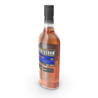 Auchentoshan 18 Years Old Whisky Bottle PNG & PSD Images