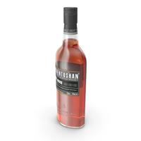 Auchentoshan Three Wood Whisky Bottle PNG & PSD Images