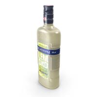 Becherovka Lemond Liqueur Bottle PNG & PSD Images