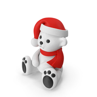 Teddy Bear White PNG & PSD Images