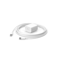 Apple 20W Type C Fast Charger with Cable PNG & PSD Images