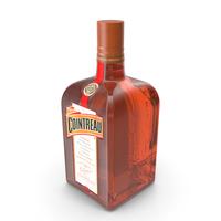 Cointreau Orange Liqueur Bottle PNG & PSD Images