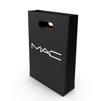 Cosmetics Shopping Bags Set PNG & PSD Images