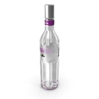 Finlandia Blackcurrant Vodka Bottle PNG & PSD Images
