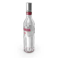 Finlandia Cranberry Vodka Bottle PNG & PSD Images