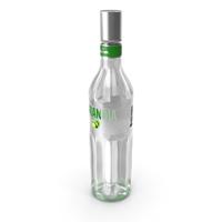 Finlandia Lime Vodka Bottle PNG & PSD Images