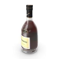 Hennessy VSOP Cognac Bottle PNG & PSD Images