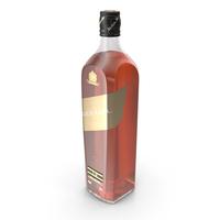 Johnnie Walker Black Label Bottle PNG & PSD Images