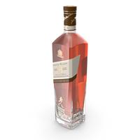 Johnnie Walker Platinum 18 Bottle PNG & PSD Images