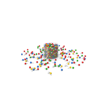 Push Pin In Plastic Cup PNG & PSD Images