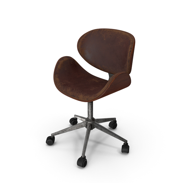 Office Chair Damaged PNG & PSD Images