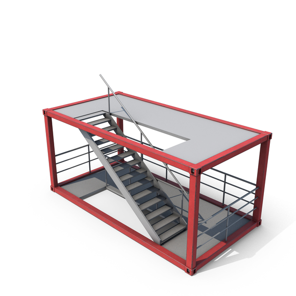 Stairs Container PNG & PSD Images