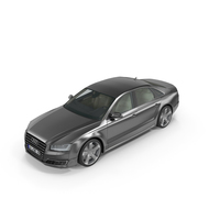 Audi A8 2014 PNG & PSD Images