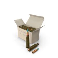 Box of 5.45×39mm Intermediate Cartridge PNG & PSD Images