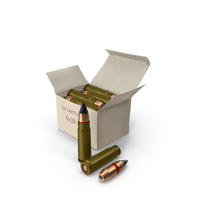 Box of 9×39mm Cartridge PNG & PSD Images
