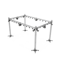 Stage Truss With Lighting PNG & PSD Images