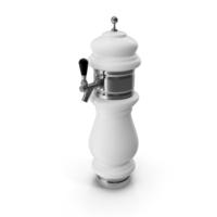 Ceramic Faucet Draft Beer Tower PNG & PSD Images