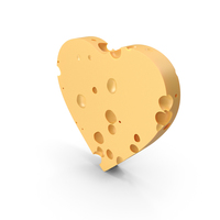 Heart Cheese PNG & PSD Images