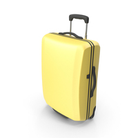 Yellow Suitcase PNG & PSD Images