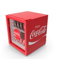 Coca Mini Fridge PNG & PSD Images
