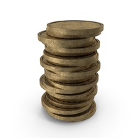 Gold Coins Stack PNG & PSD Images