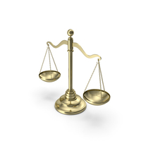 Gold Balance Scale PNG & PSD Images