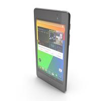 Asus Google Nexus 7 (New Gen) 2013 PNG & PSD Images