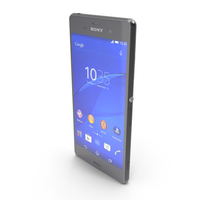 Sony Xperia Z3 & Z3 Dual Black PNG & PSD Images