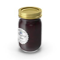 Jam Jar Blueberry PNG & PSD Images