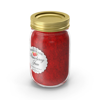 Jam Jar Strawberry PNG & PSD Images