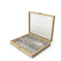 Microscope Slide Box PNG & PSD Images