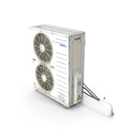 Outdoor AC Twin Unit PNG & PSD Images