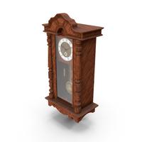 Retro Pendulum Clock PNG & PSD Images