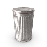 Steel Trash Can PNG & PSD Images