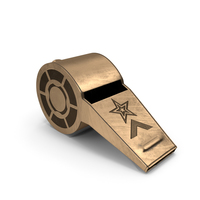 whistle Bronze PNG & PSD Images