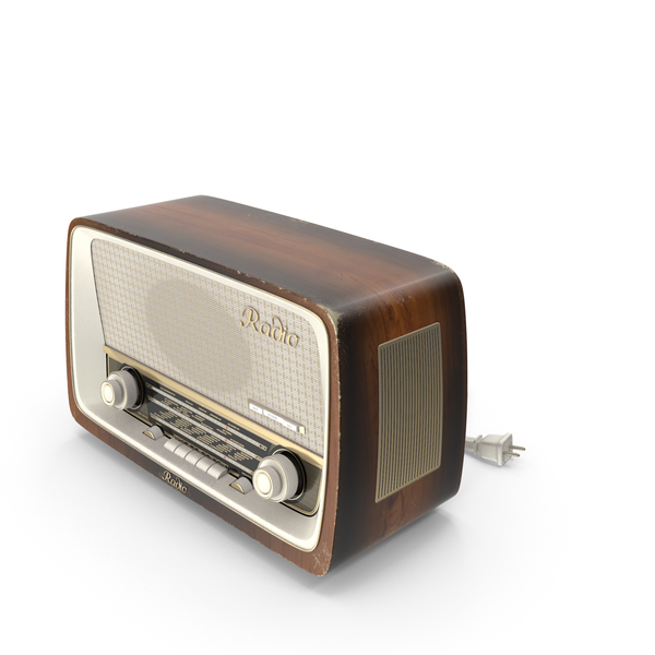 Vintage Radio PNG & PSD Images