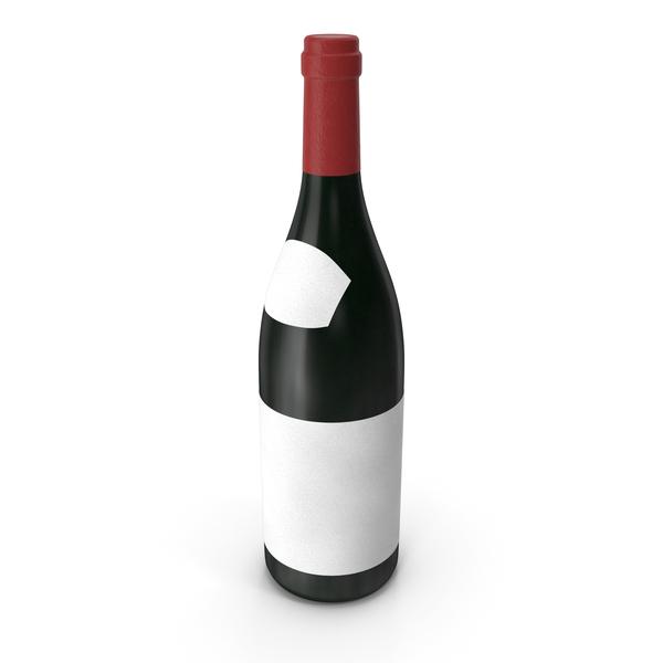 Wine Bottle Beaujolais PNG & PSD Images